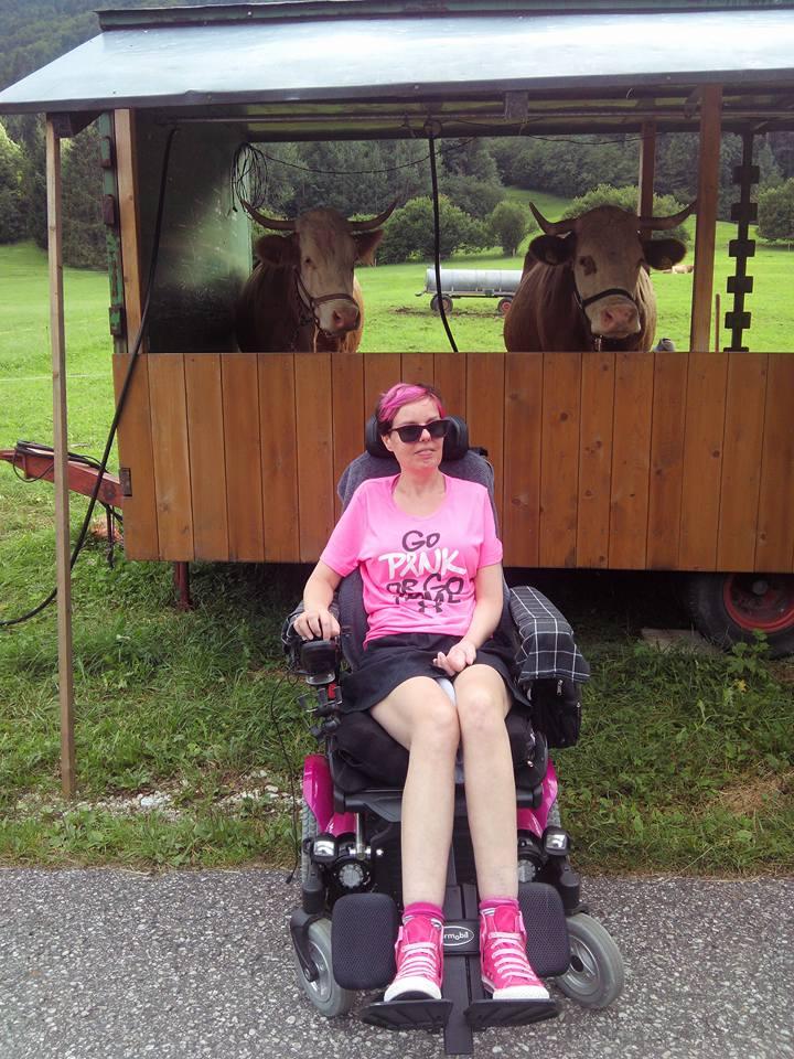 Angie Bordaen, Diagnosed 2014 - ALS Liga België, Belgium