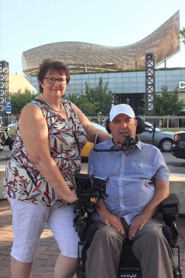 Danny Reviers, Diagnosed 1979 - ALS Liga België, Belgium