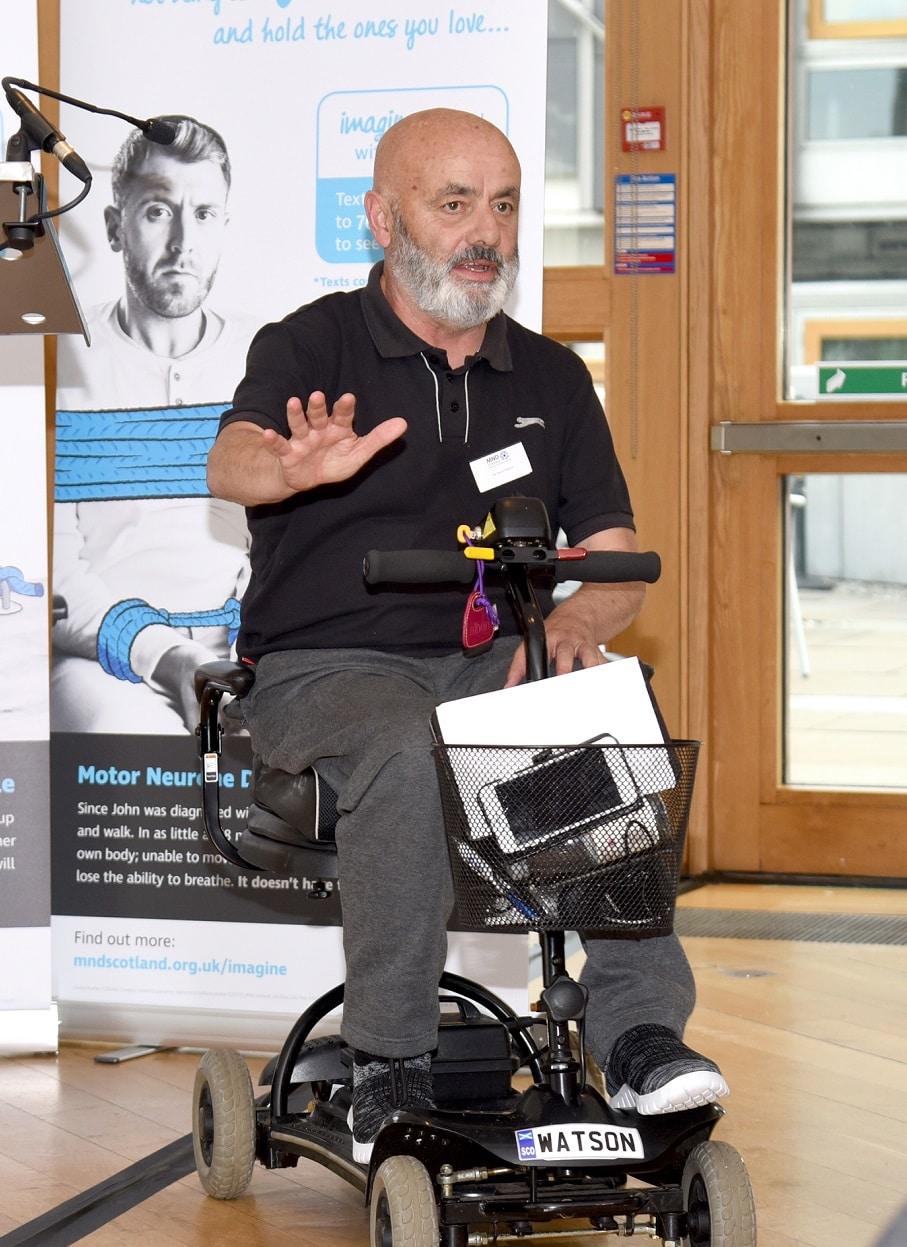 David Watson, MND Scotland, Diagnosed 2018, Scotland