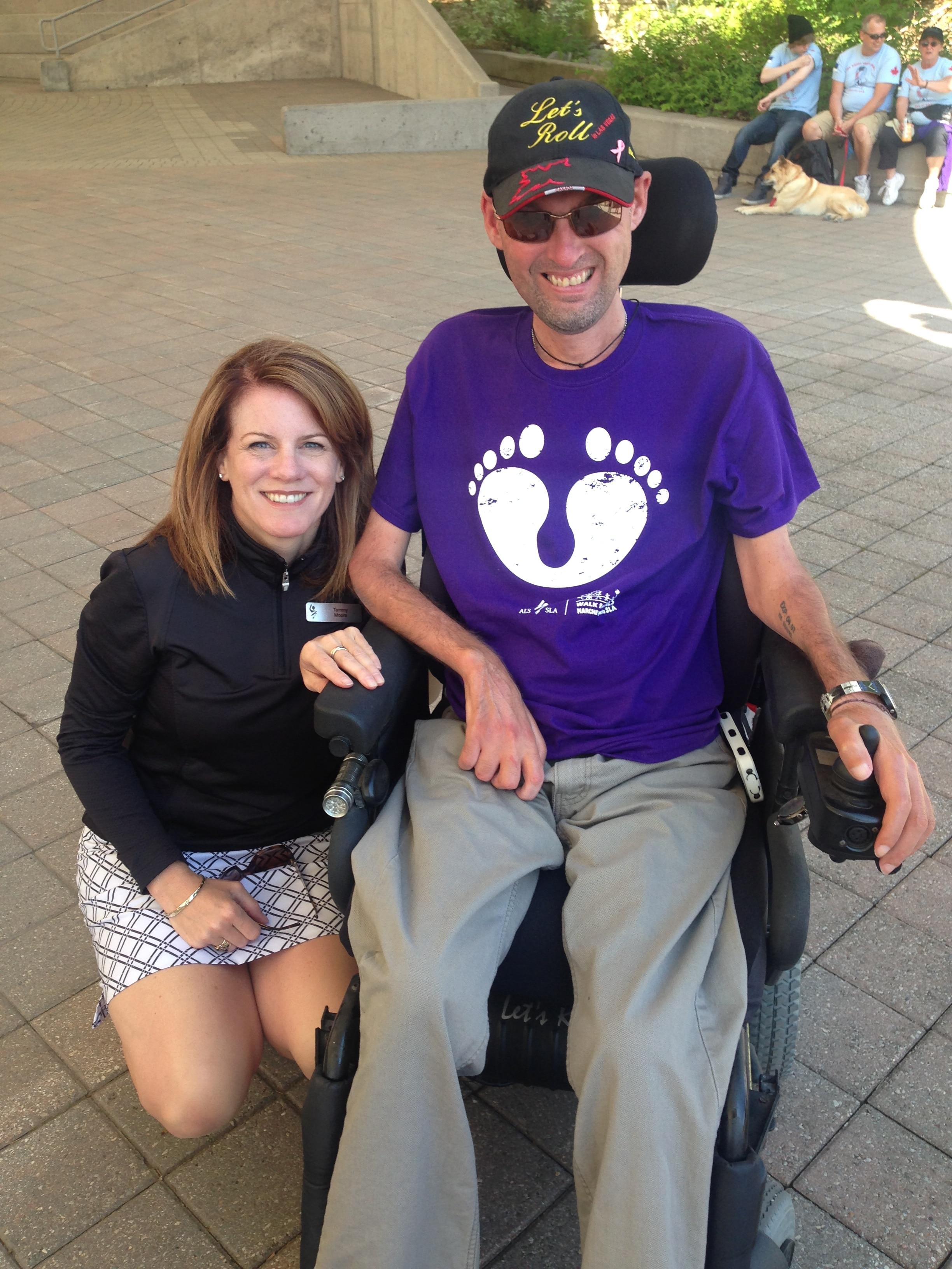 Eddy LeFrançois, Diagnosed 1992 - ALS Canada