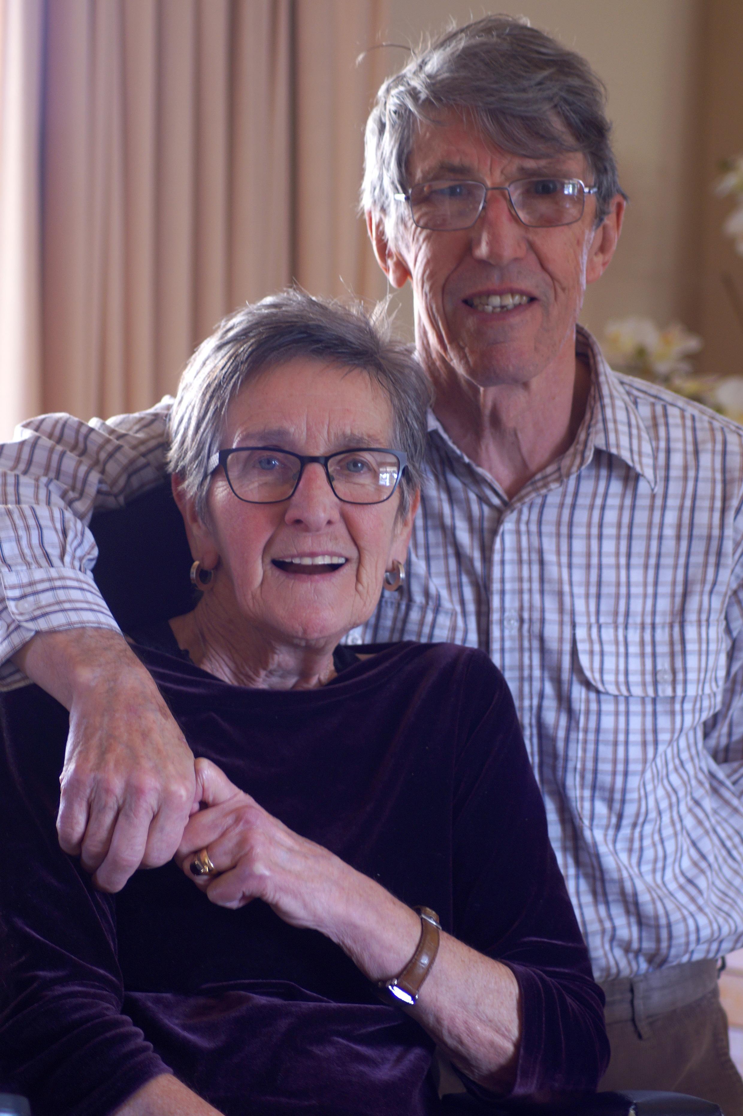 Irene McCaughey, Diagnosed 2011 - MND Australia