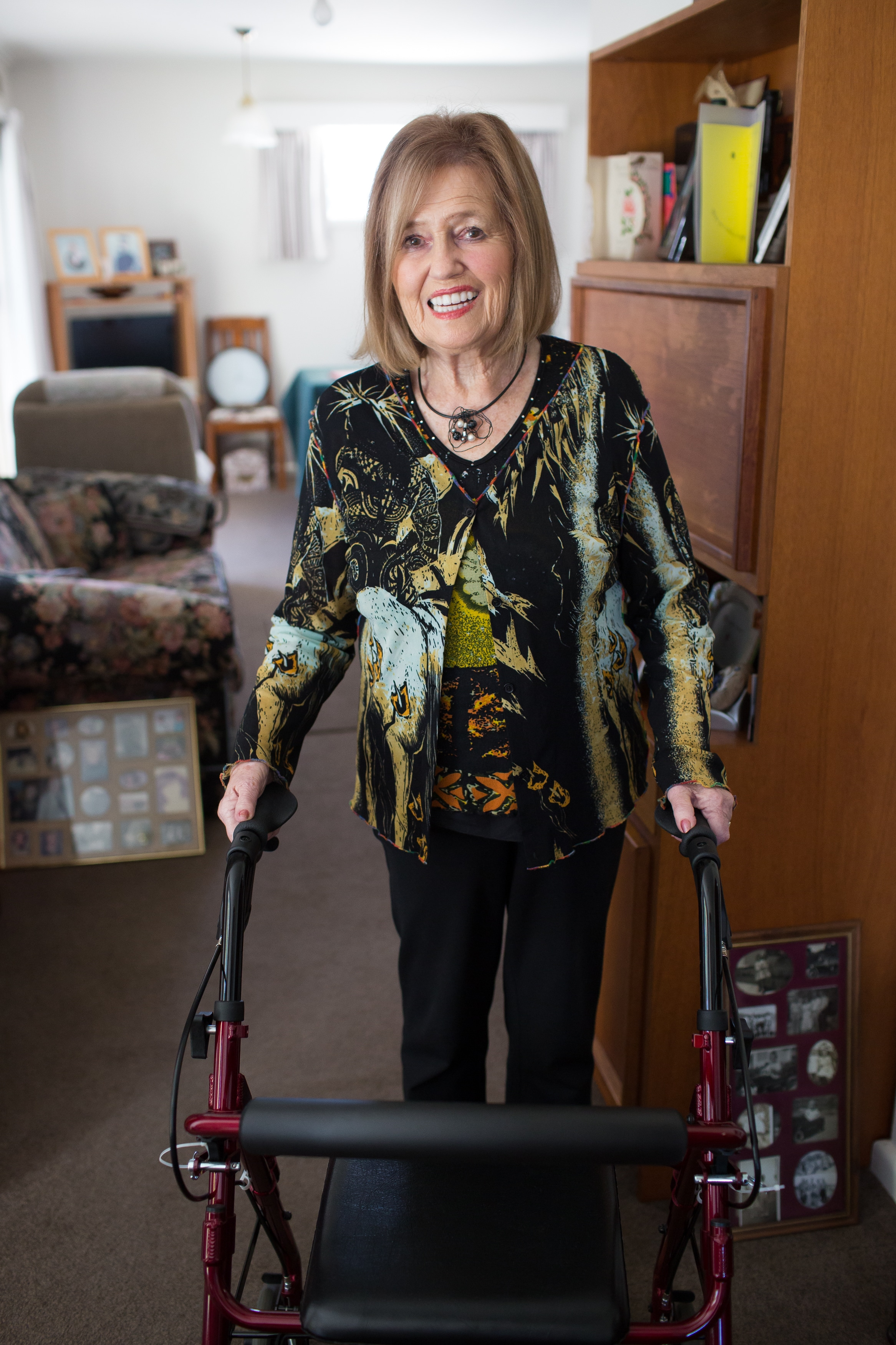Joy Blakeley, Diagnosed 2017 - MND Australia