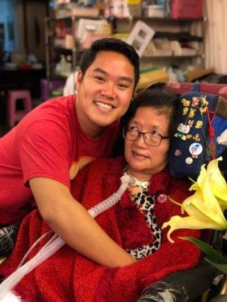 Chen Yin Xue, Taiwan MND Association, Diagnosed 1995, Taiwan
