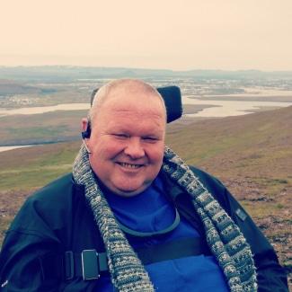Gudjon Sigurdsson, Diagnosed 2004 - MND Association of Iceland