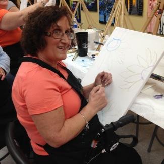 Sharon Corosanite, Diagnosed 2014 - ALS Hope Foundation, USA